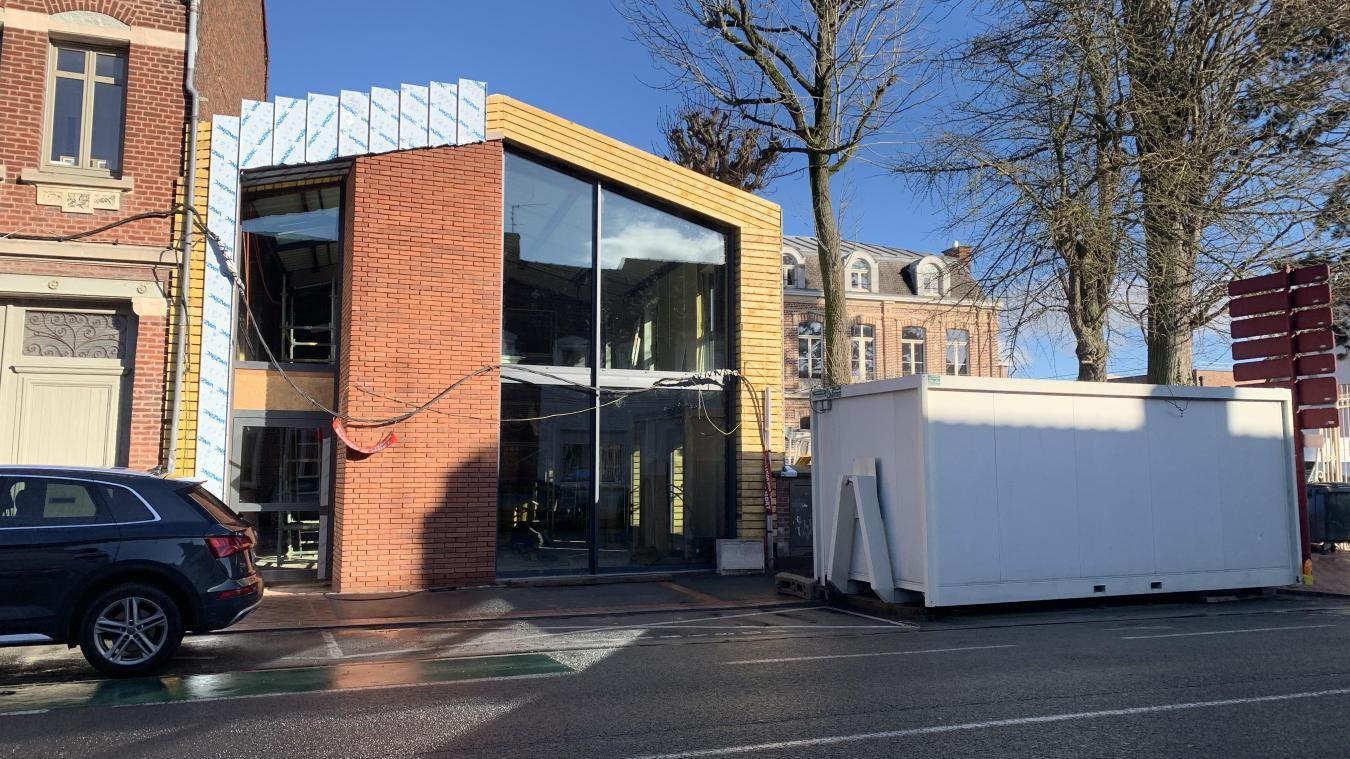 Avec la nouvelle structure qui se construit rue de Merville, les Papillons Blancs d'Hazebrouck s'ouvrent un peu plus vers l'accompagnement des personnes polyhandicapées.