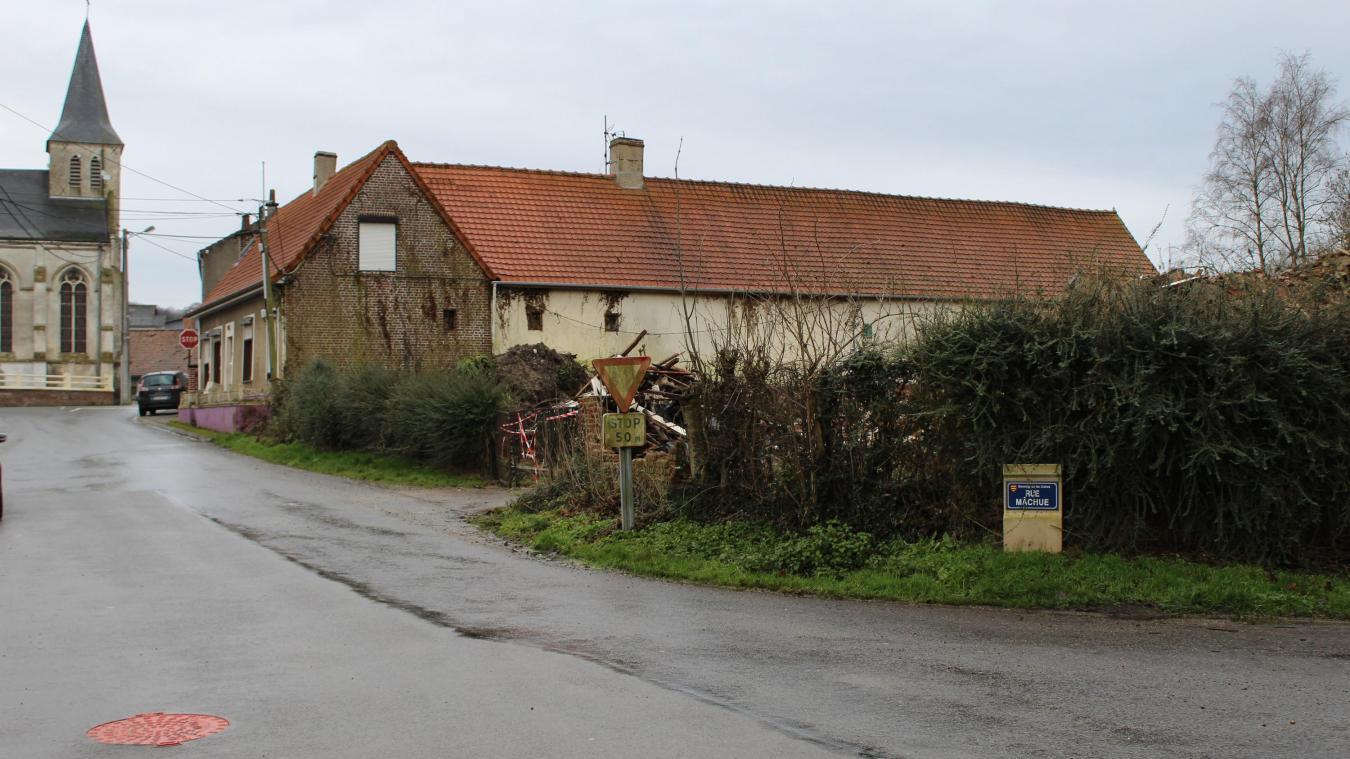 Cinq appartements pour seniors seront construits à la place de cette ancienne maison dans la commune.