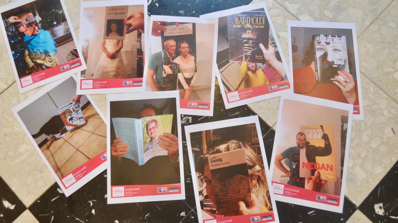 Quelques photos de l'exposition Bookface.
