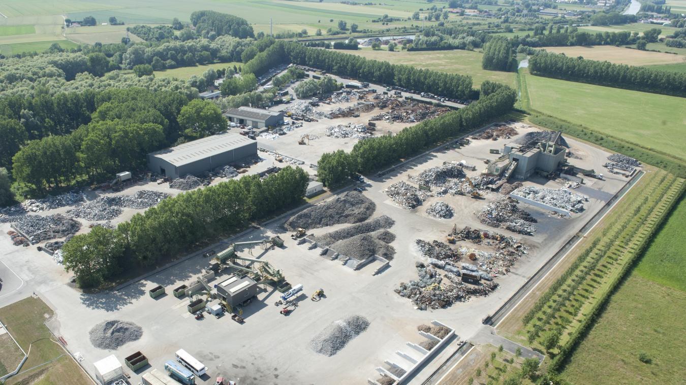 Le groupe Baudelet a été choisi pour traiter les déchets générés par le chantier.