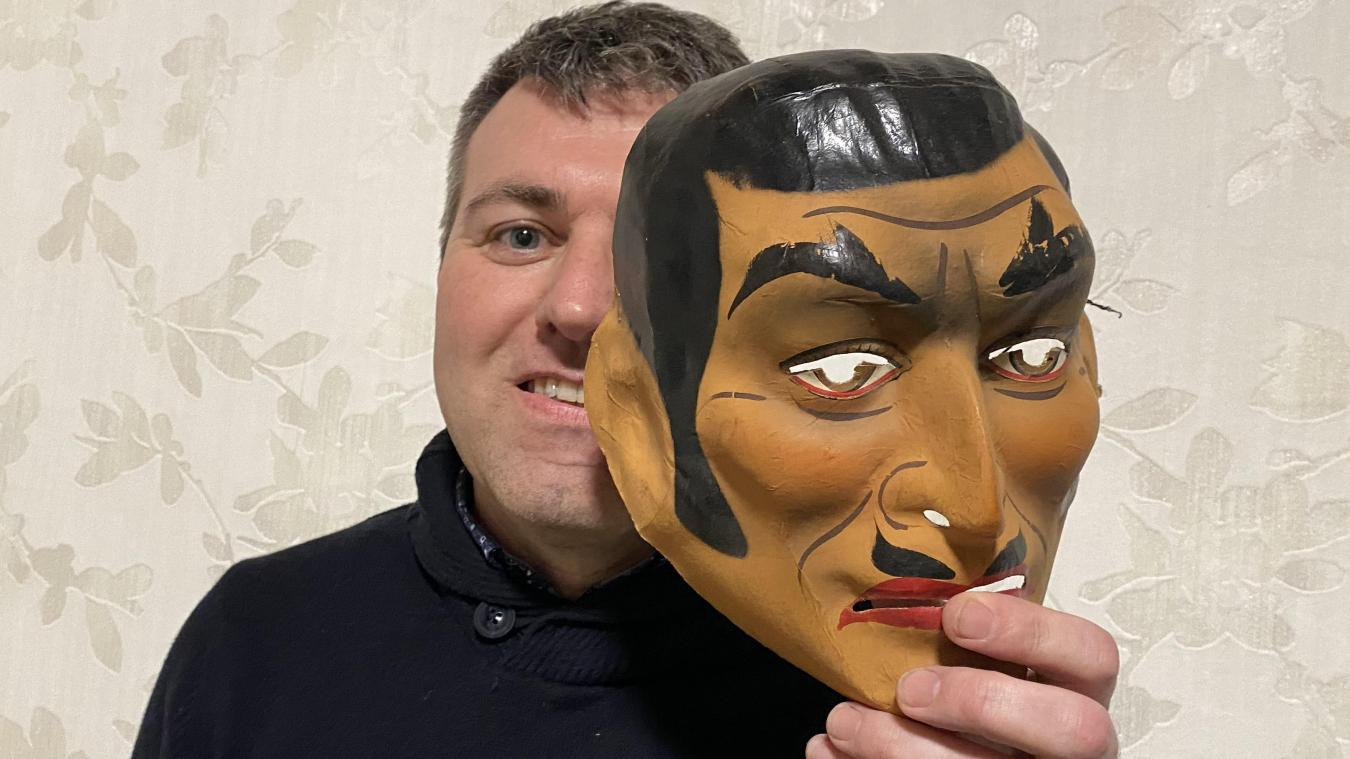 Pascal Verdru est bailleulois. Il a remporté pas moins de huit fois le concours de masques et d'intrigues le lundi soir du carnaval de Bailleul.