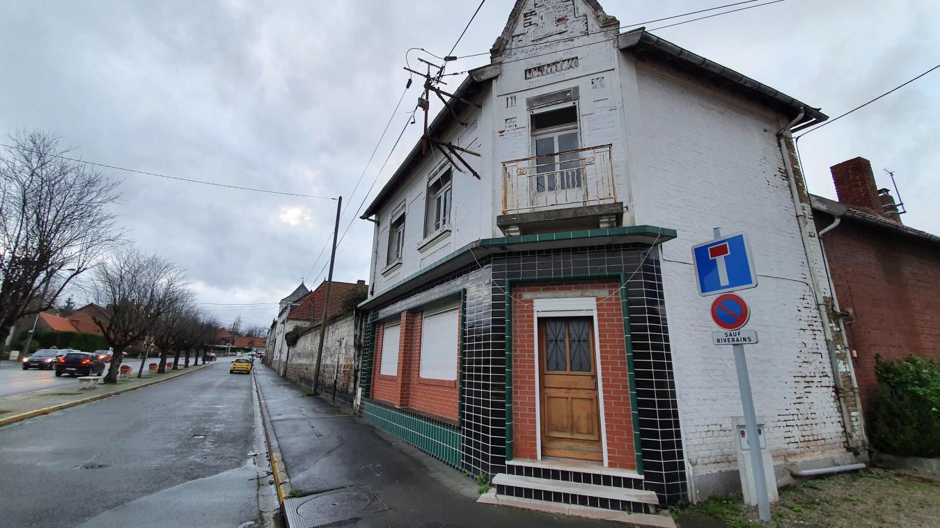 1326000 euros seraient nécessaires pour rénover intégralement le 36 de la rue du 1er-Mai à Haillicourt.
