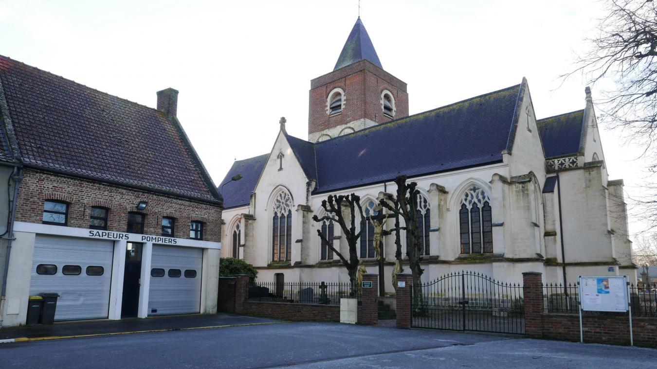 Espace médical et rendez-vous touristique rendront plus vivants les abords de l'église.