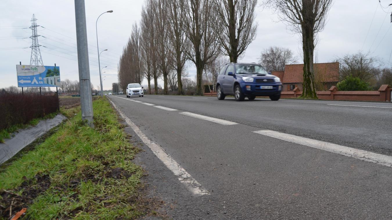 L'avenue de L'Europe rejoint Aire-sur-la-Lys et Isbergues.