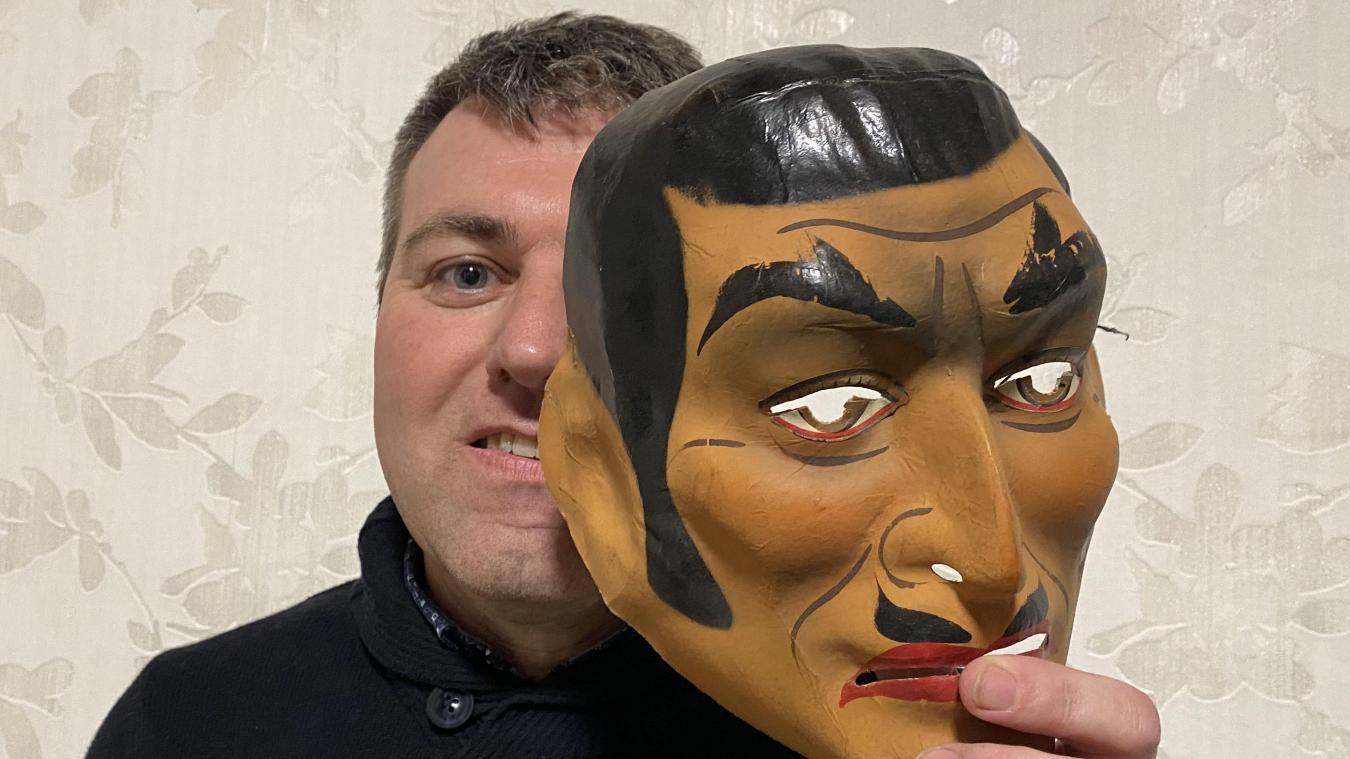 Pascal Verdru a gagné huit fois le concours de masques et d'intrigue, en individuel et en groupe.