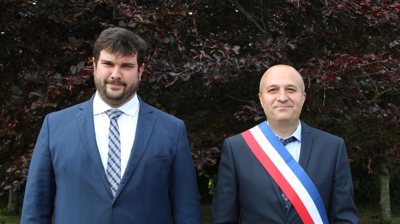 Élus en mars, le maire et le premier adjoint ont présenté leurs premiers voeux via Facebook.