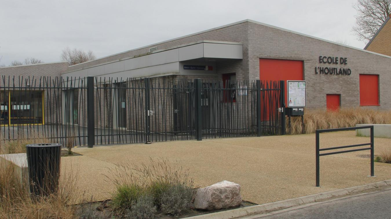 L'école de l'Houtland a été labellisée École numérique en décembre dernier.