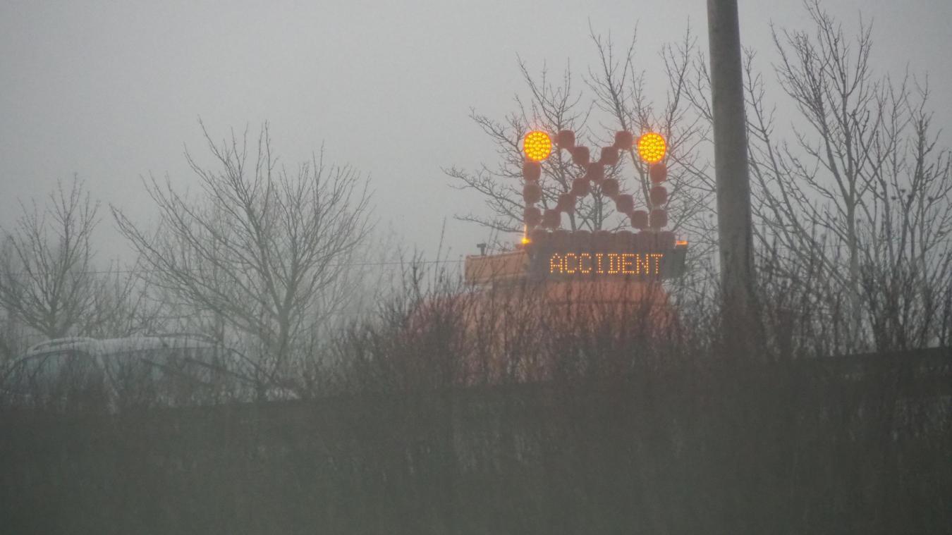 Collision sur l'A16 à hauteur d'Offekerque (vidéo)