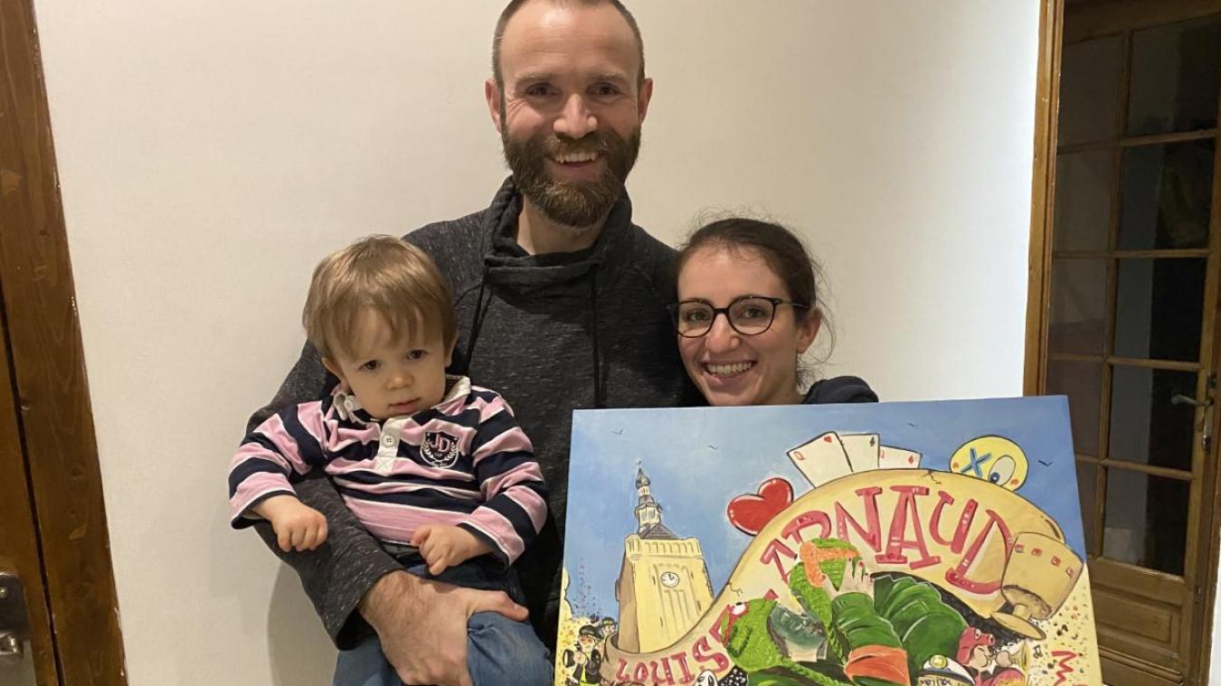 Mariés depuis le 16 juin 2018, Arnaud et Louise ont accueilli en mai 2019 le petit Gaston.