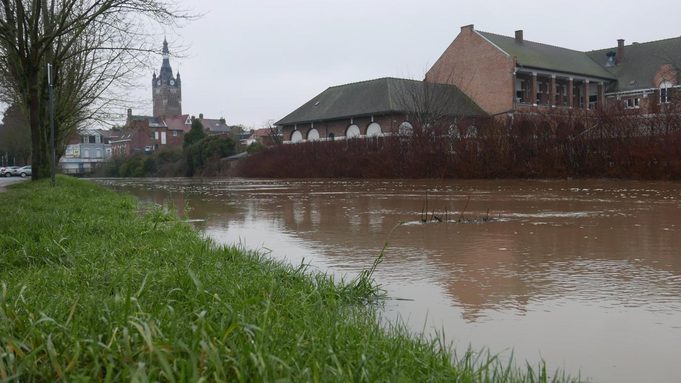 Un septuagénaire meurt noyé dans la Sambre près de Maubeuge — Intempéries