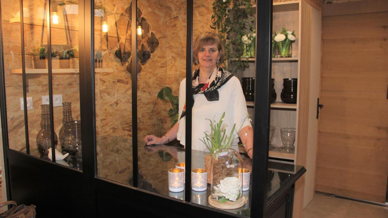 Valérie Lescieux-Roelandt accueillera ses clients, dès jeudi, dans un décor néo industriel à deux pas de son ancienne boutique.