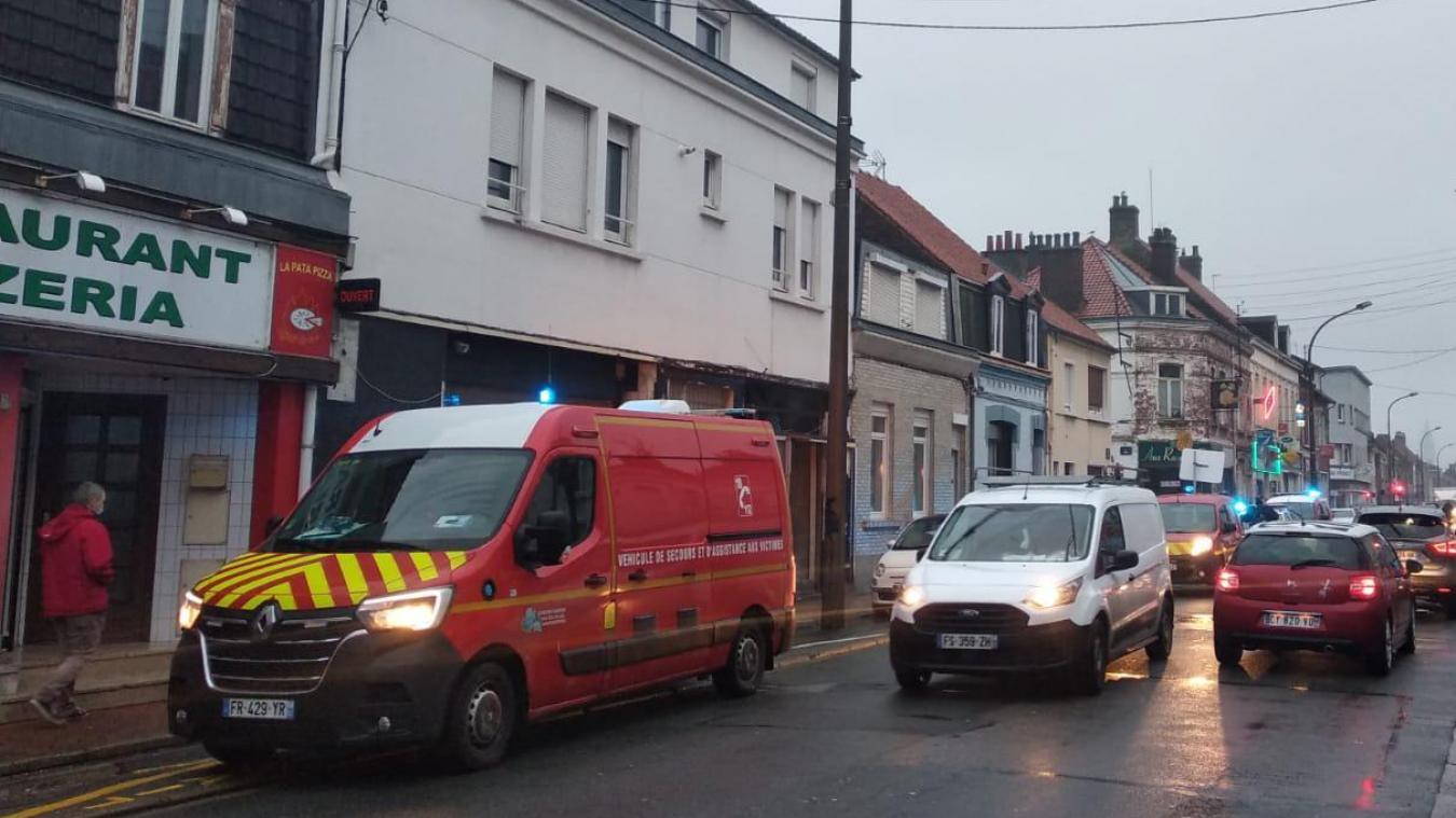 Calais: départ de feu dans une maison de la rue Mollien