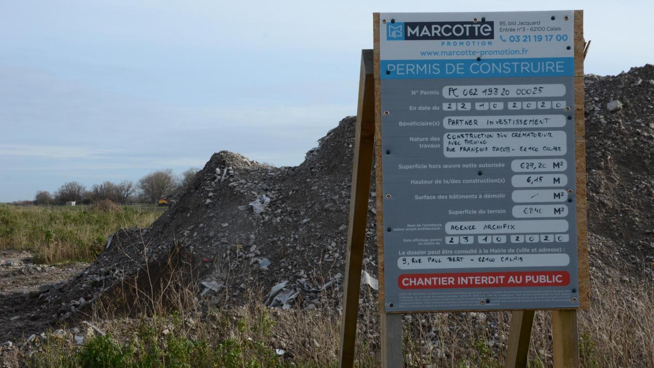 Le crématorium de Grand Calais prendra place rue François-Jacob dans la zone Marcel Doret.