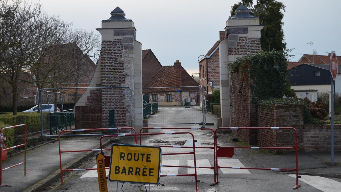 La porte rue d'Aire va être mise en valeur.