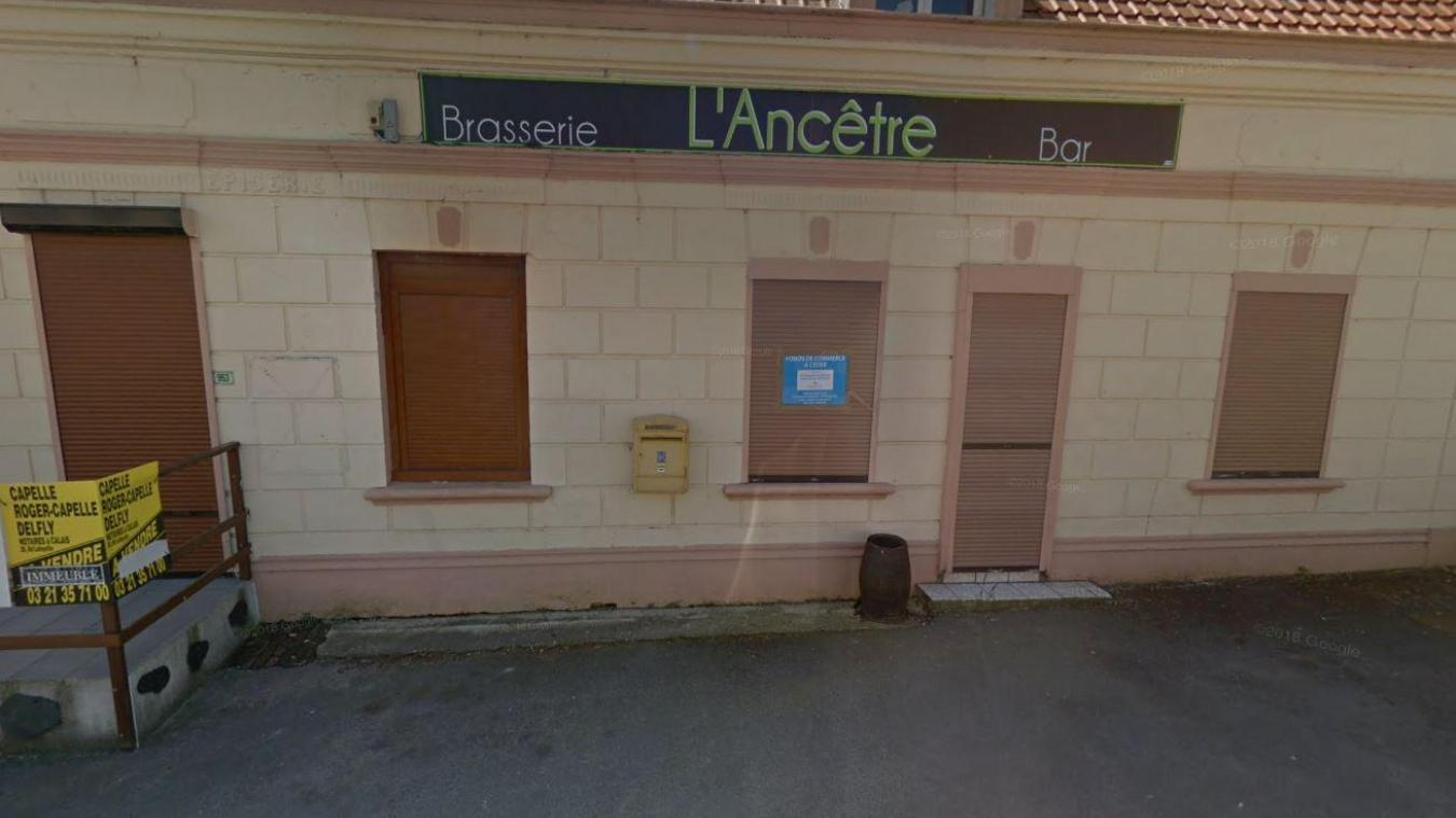 La brasserie l'Ancêtre est inoccupée depuis plus de trois ans.