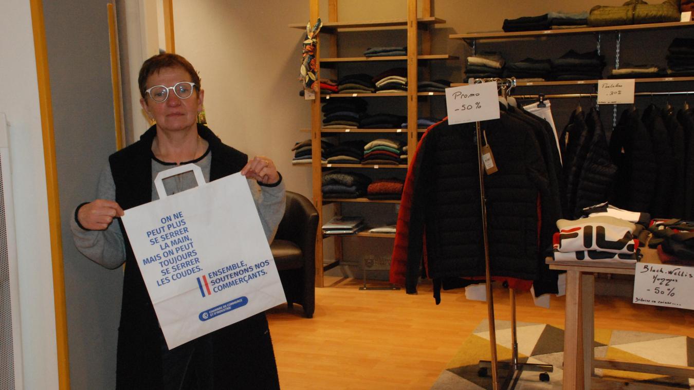 Corinne Willemand incite tous les commerçants à profiter de ces ateliers pour devenir autonome dans leur communication