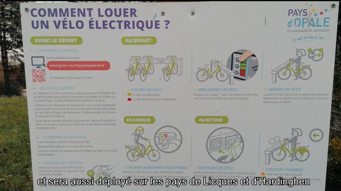 Le vélopartage, déjà en place à Guînes et Ardres, sera déployé dans l'arrière-pays.