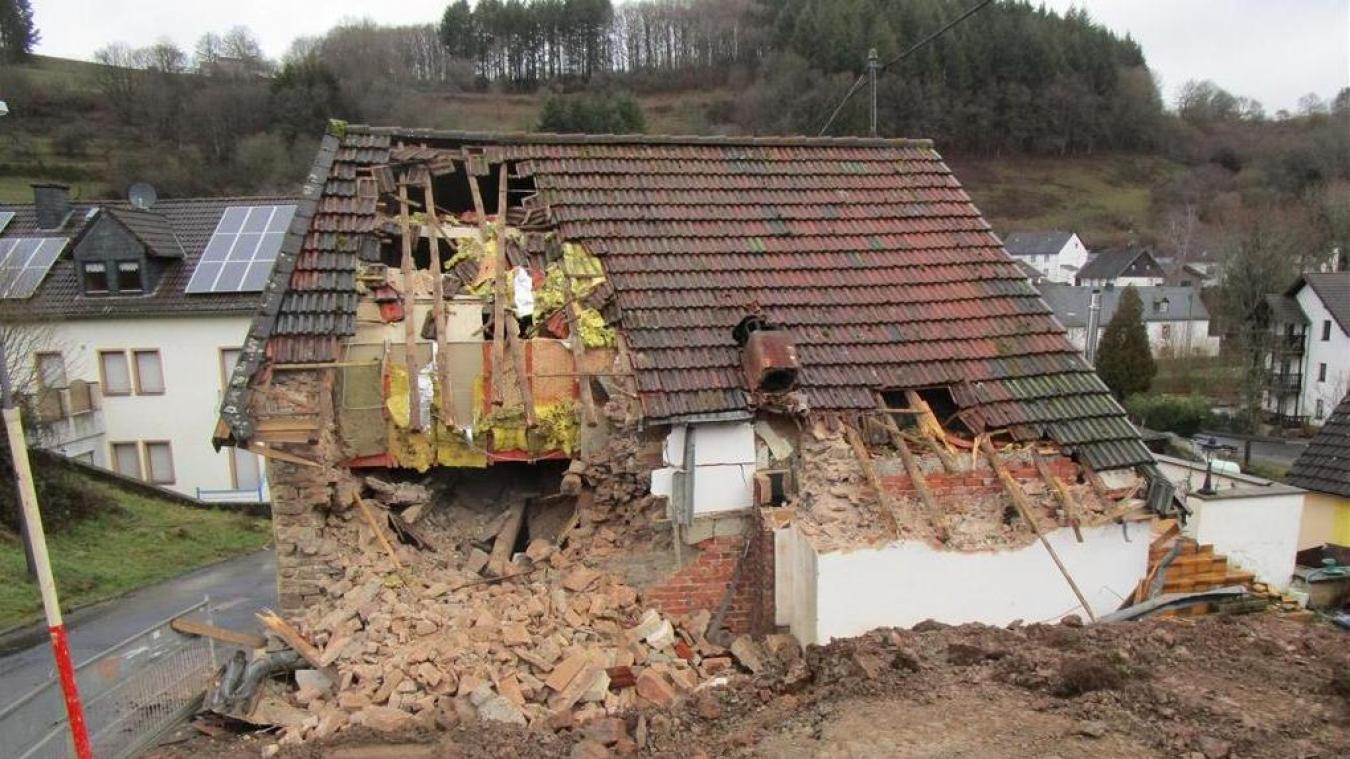 Le locataire se trouvait encore dans cette maison en Allemagne.