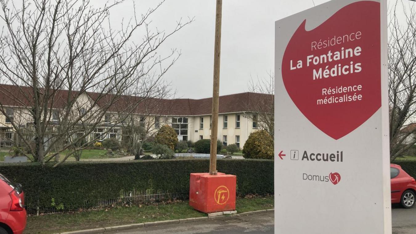 Cluster à la Fontaine Médicis, huit résidents décédés à Cucq