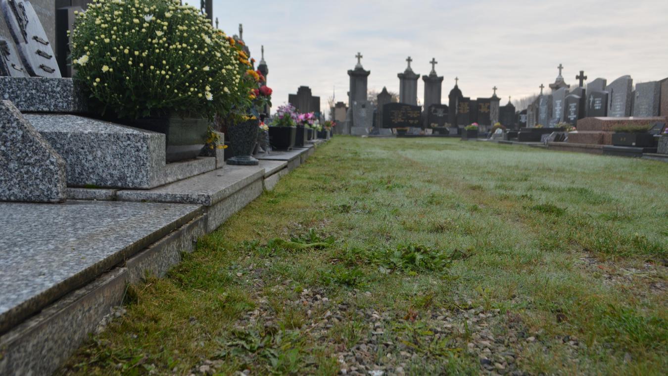 Le cimetière de Rosendaël pourra accueillir 150 tombes supplémentaires dès 2022.