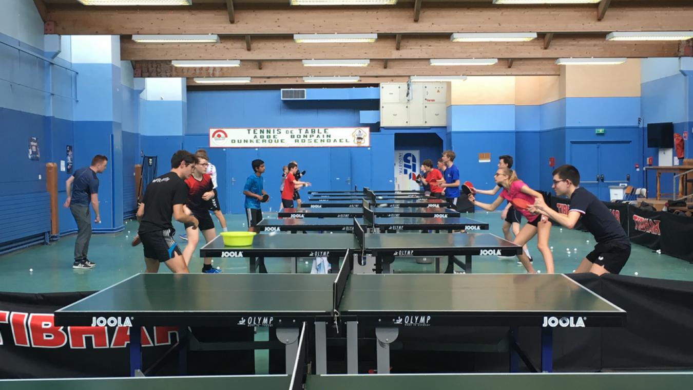 Dunkerque : le sol de la salle de sport Daniel-Verrièle rénové