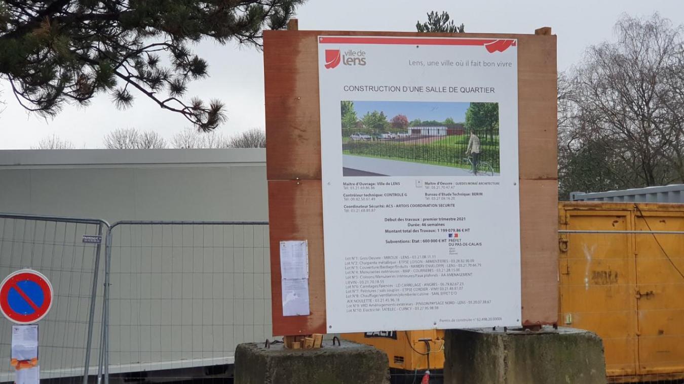 Le chantier a démarré rue Paul-Sion.