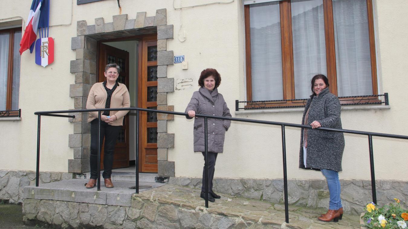 De gauche à droite : Anne Vanpeene, Isabelle Koch et Ingrid Tankeré.