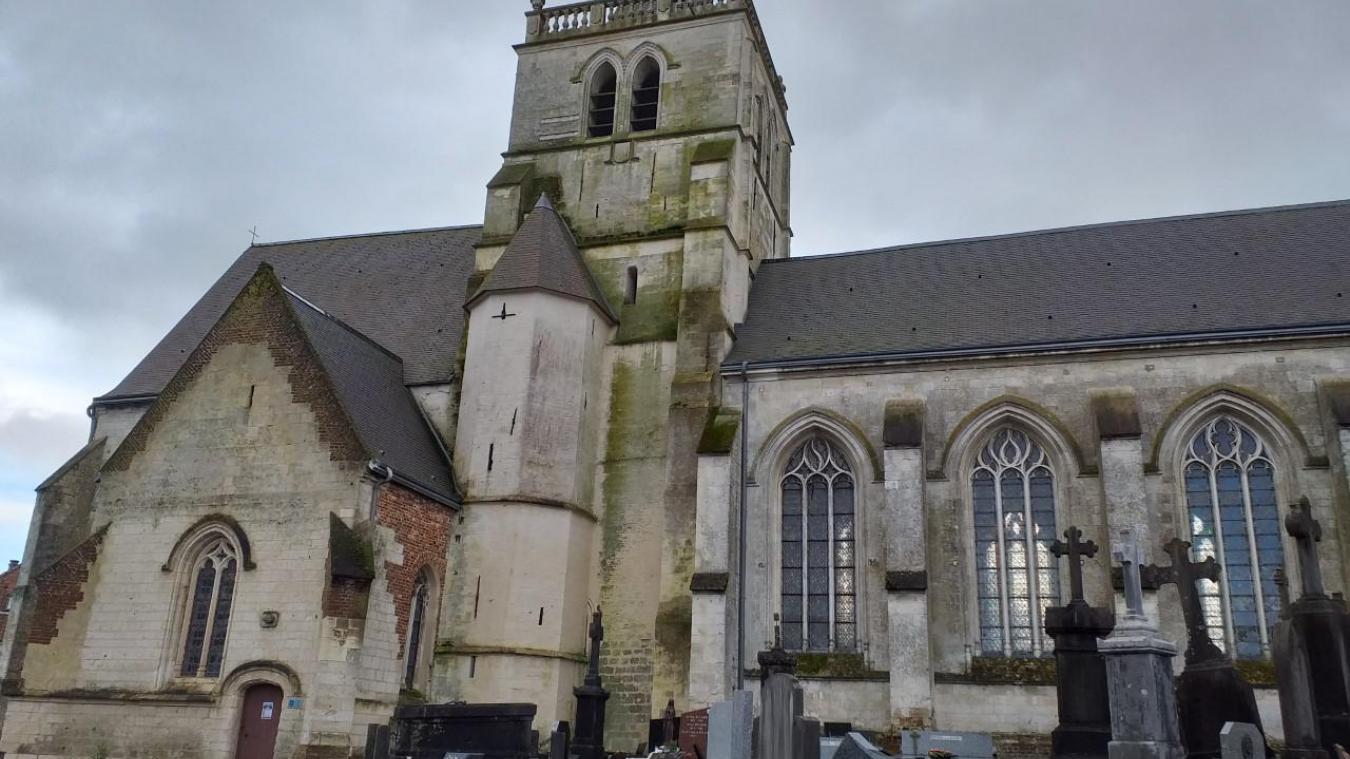 La rénovation de l'église de Bomy va se poursuivre.