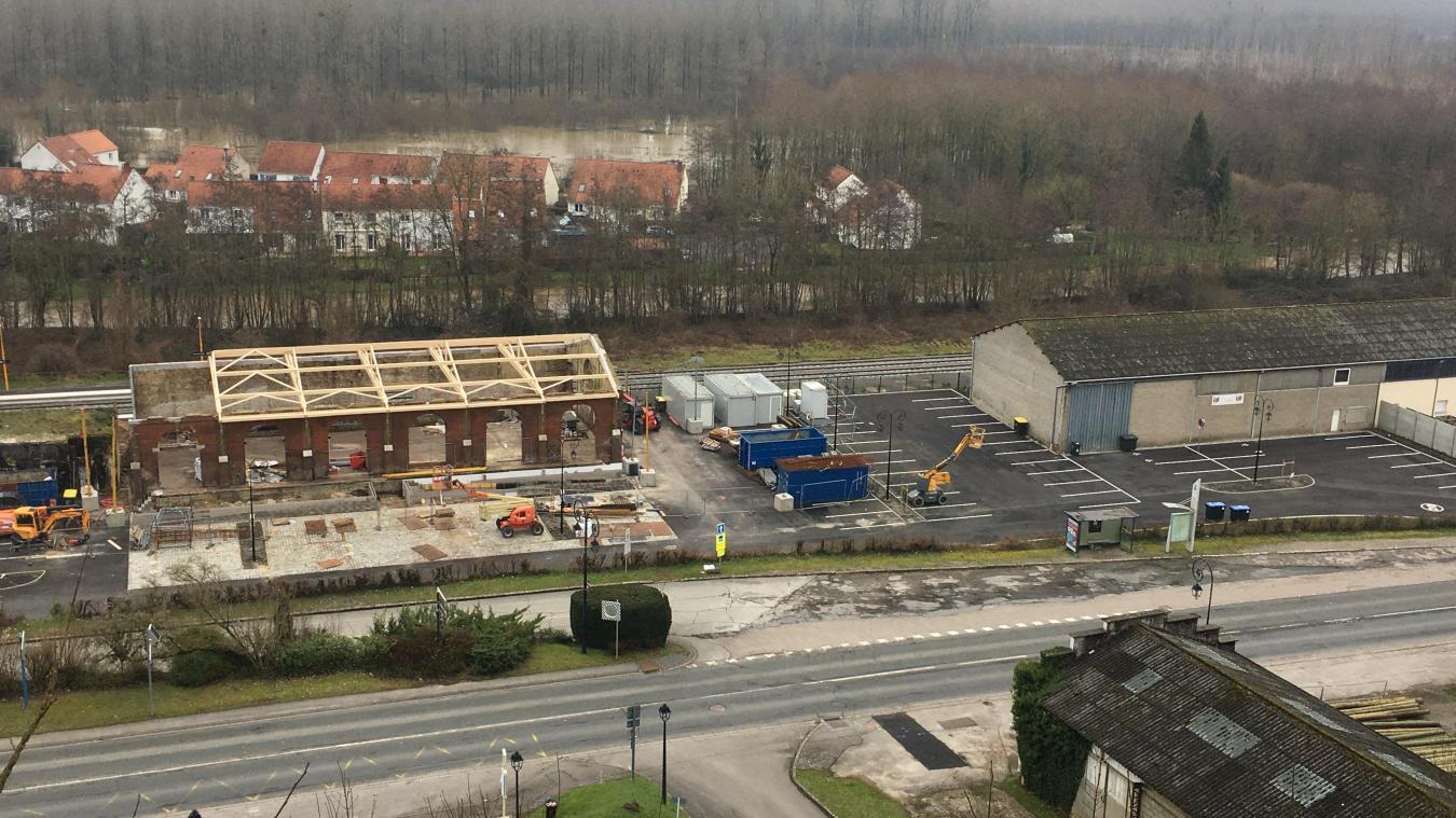 Un projet de cellules commerciales est également en cours en Ville Basse.