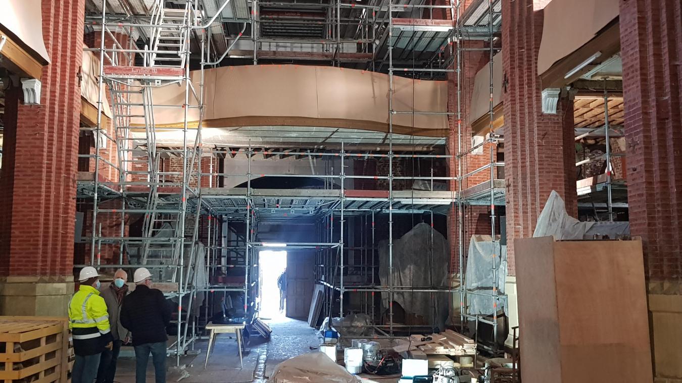 Près de quatre années de travaux seront nécessaires pour restaurer l'édifice religieux.