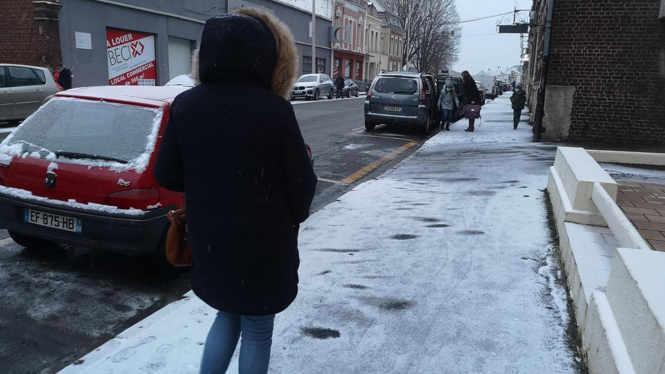 L'Artois à nouveau sous la neige