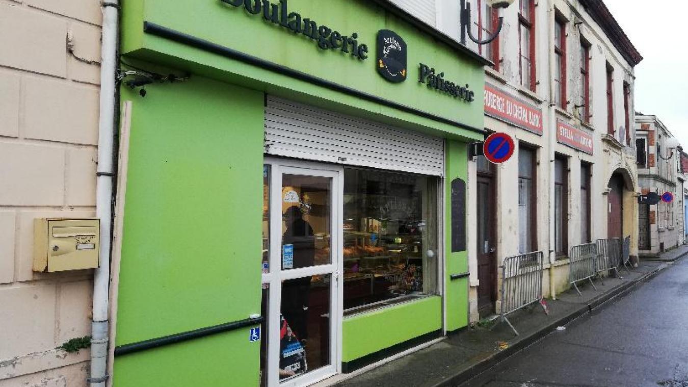 Un incendie s'était déclaré à la boulangerie fin janvier. Elle a pu rouvrir ces portes ce vendredi 5 février.