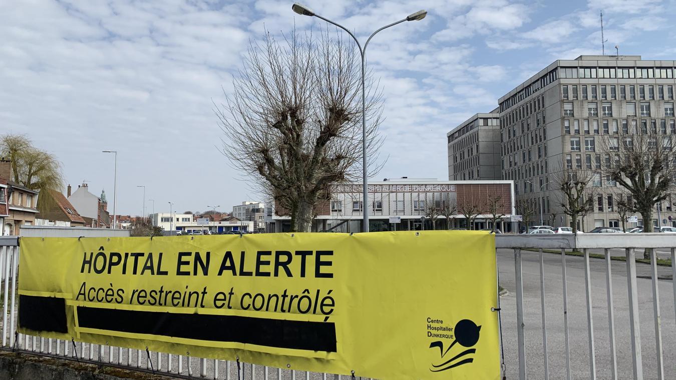 Le Centre hospitalier de Dunkerque assure, ce lundi 8 février, la prise en charge de 54 patients atteints de la Covid-19.