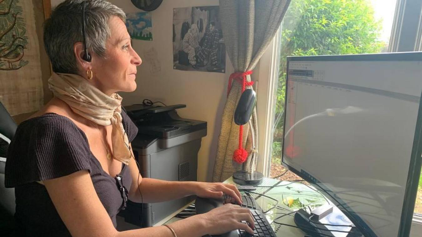La Louchoise Elise Marguet a lancé son activité en novembre dernier.