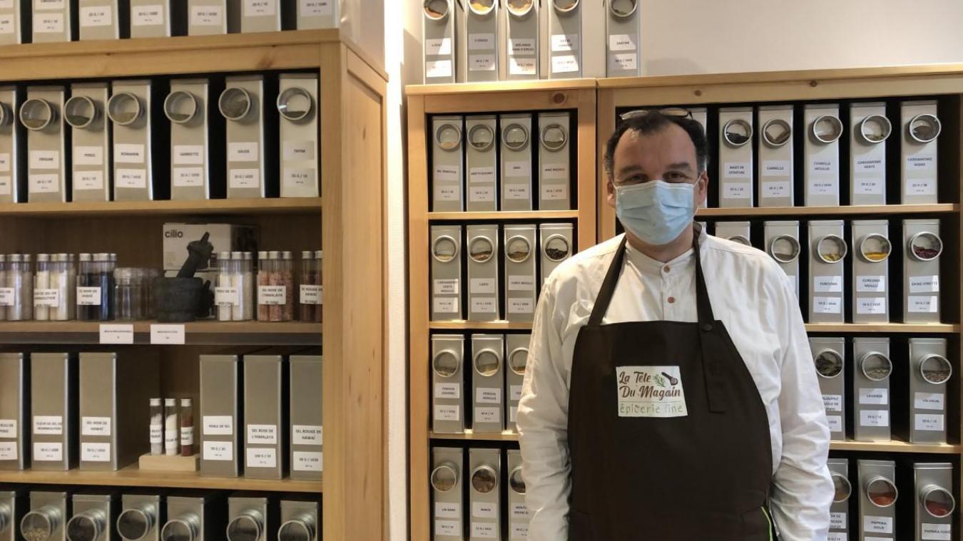 Salim Boukelmoune originaire de Lyon a fait le choix de se spécialiser dans les épices.