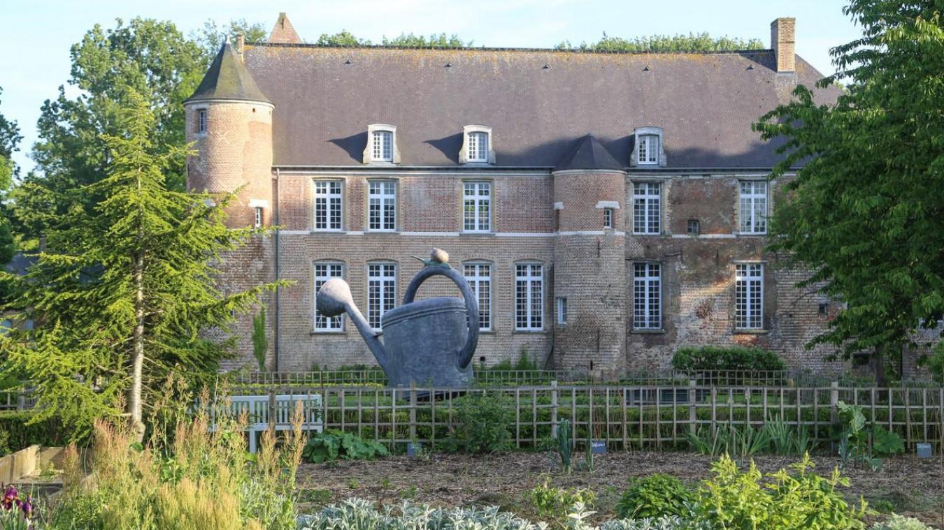 Le parc paysager du château va subir quelques changements.
