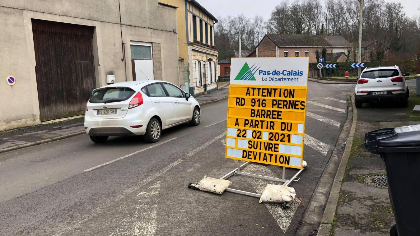 Des panneaux ont déjà été affichés aux abords du futur chantier.