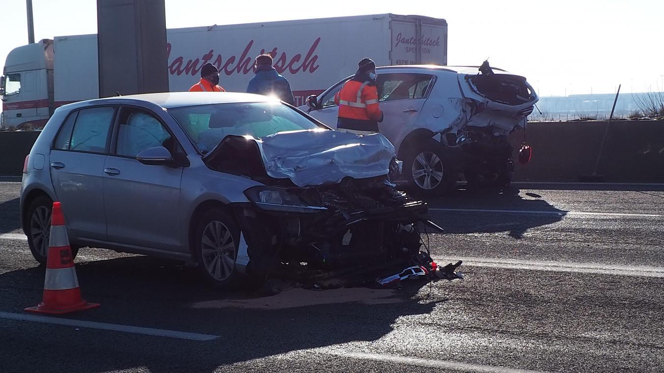 L'accident a été particulièrement violent.
