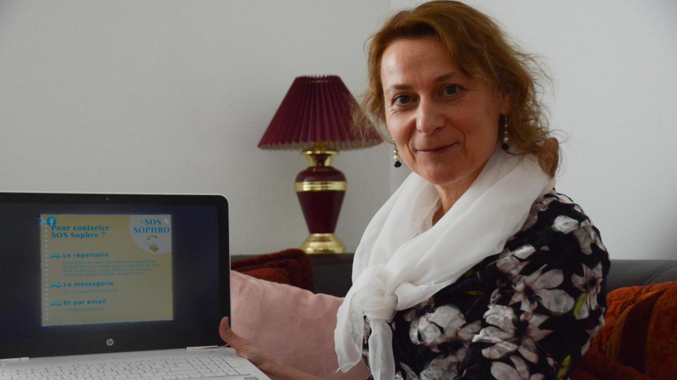 Deux fois par semaine, Nathalie Richard apporte gratuitement son soutien aux personnes en souffrance.