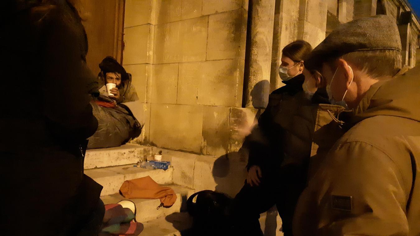 Arras: pourquoi certains sans-abri refusent l'accueil de nuit
