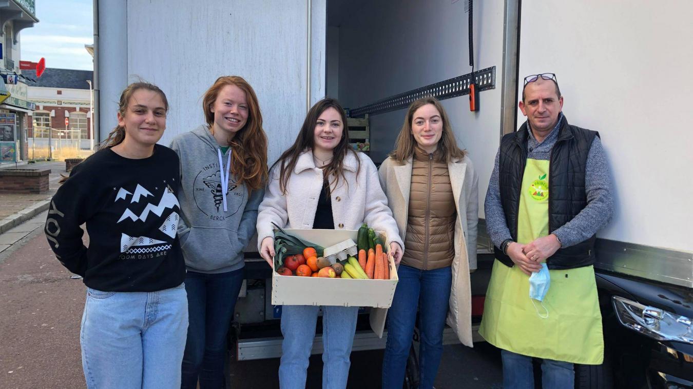 Berck : l'élan du cœur de Direct Fruits pour les étudiants