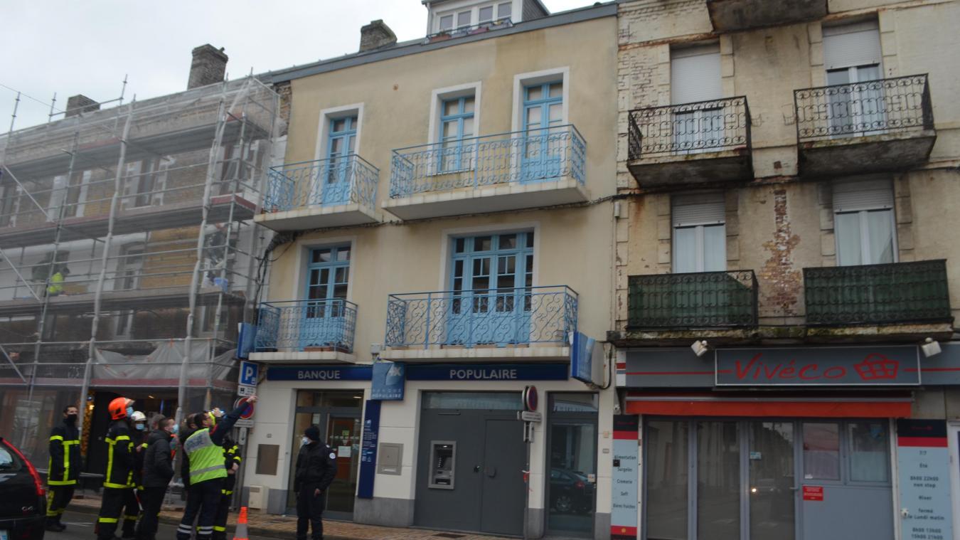 Berck : fissure inquiétante dans un immeuble