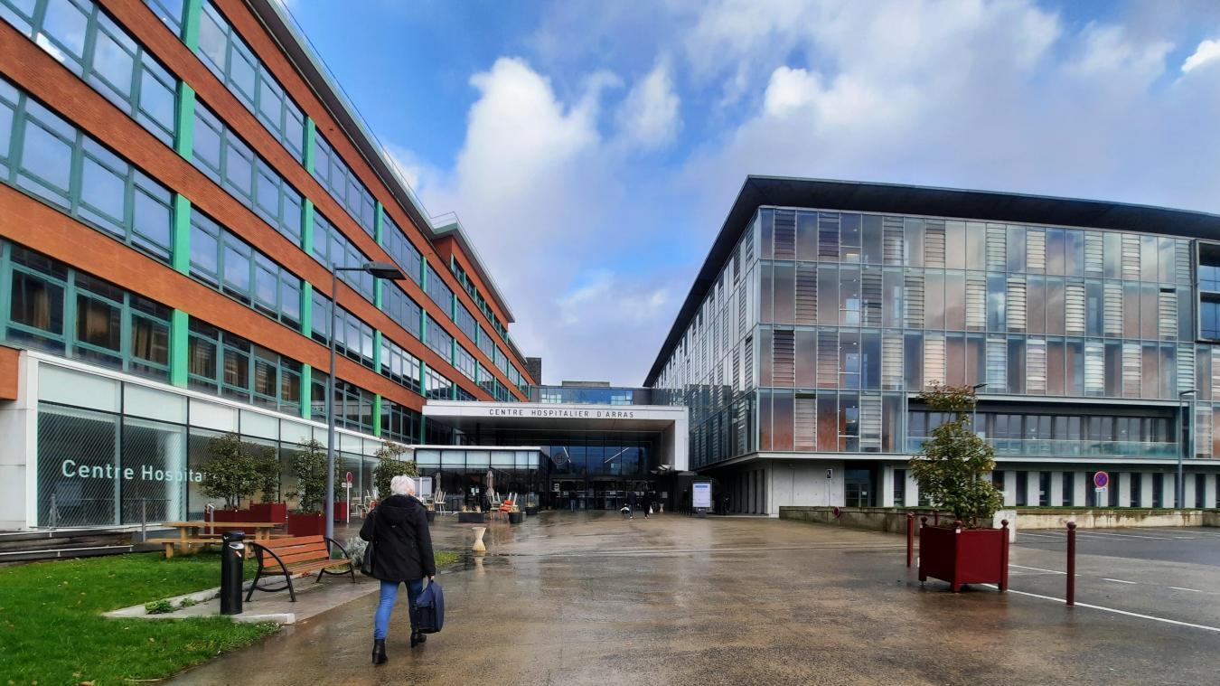 Le centre hospitalier d'Arras voit le nombre de patients hospitalisés se stabiliser.