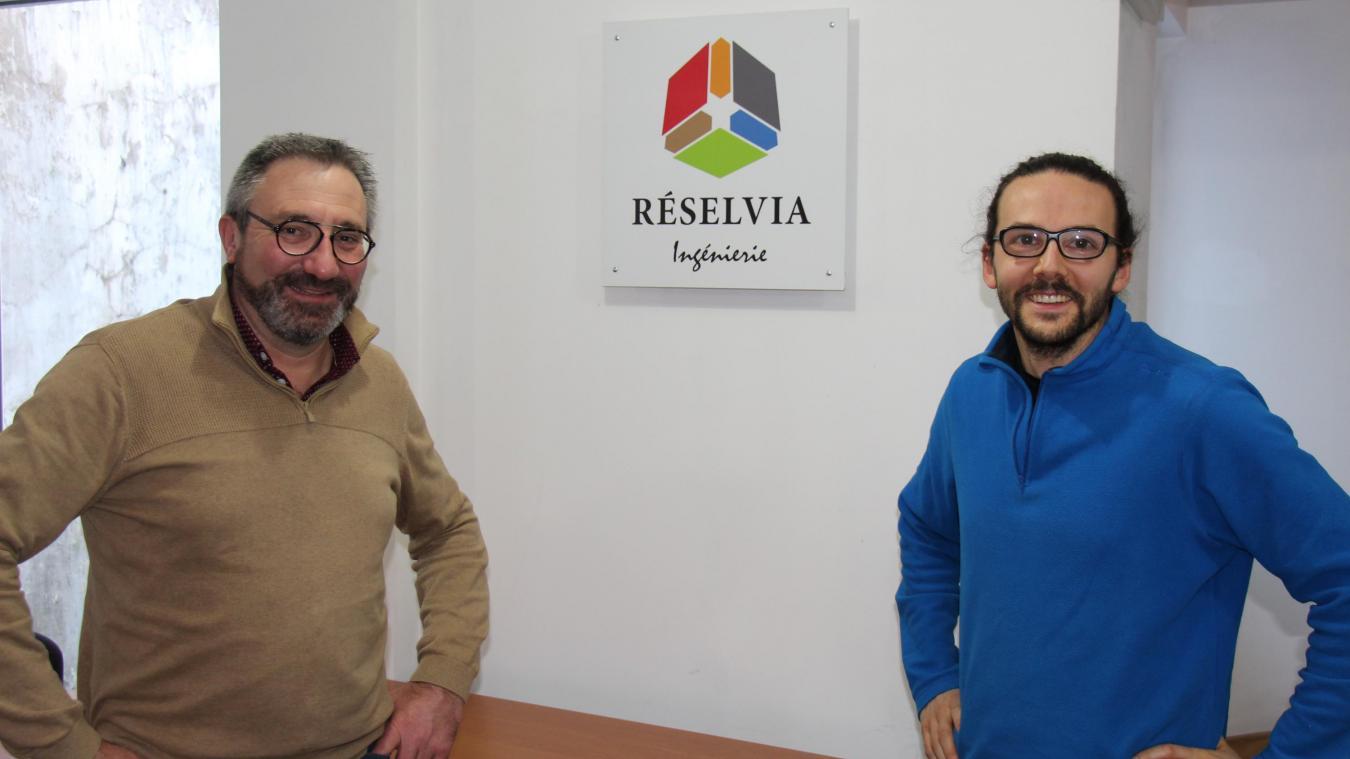 Le directeur Benoît Soufflet et sa nouvelle recrue Jean-Philippe Vasseur.