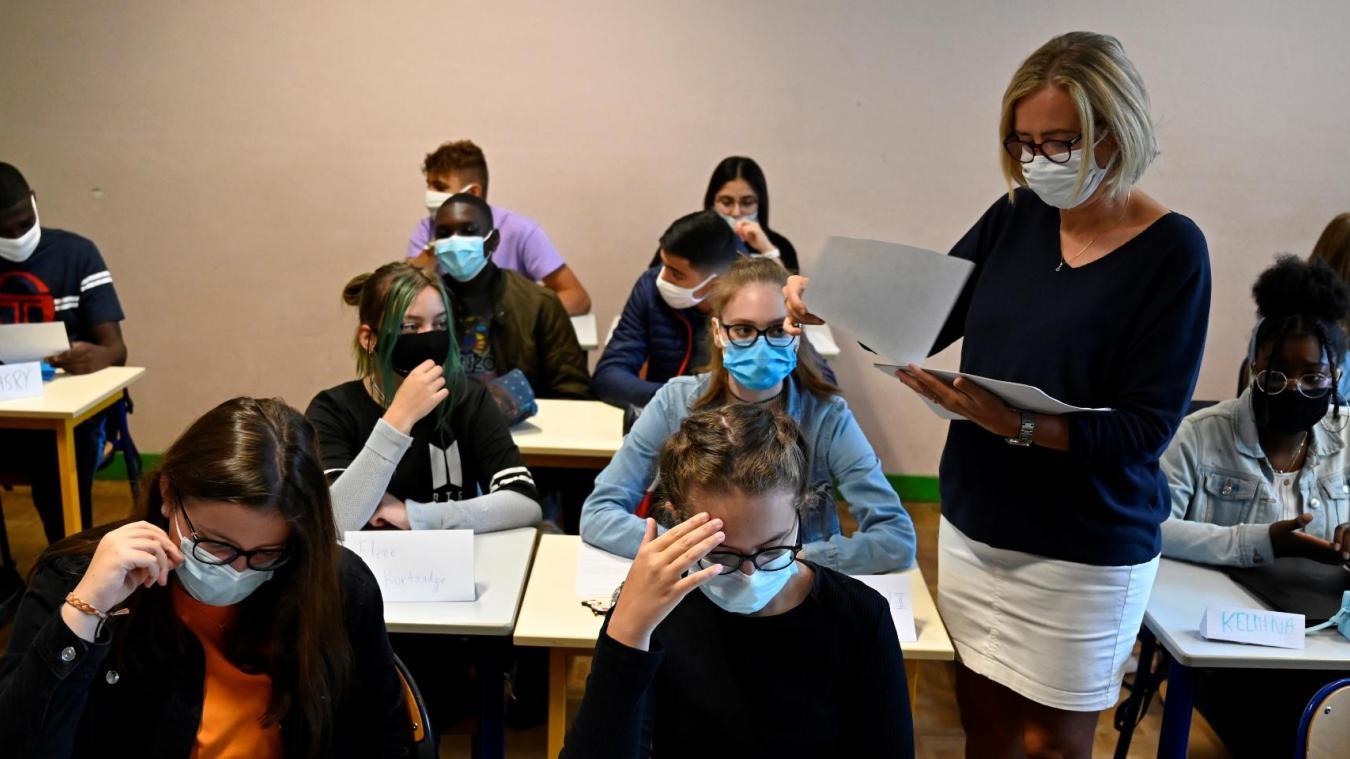 Dans le Pas-de-Calais, tous les collèges ne seront pas logés à la même enseigne à la rentrée 2021(Photo d'illustration).