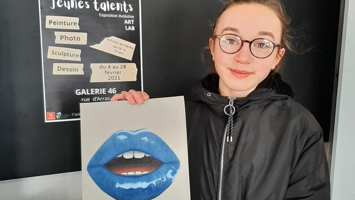 Les jeunes talents se dévoilent à la galerie 46 à Hesdin