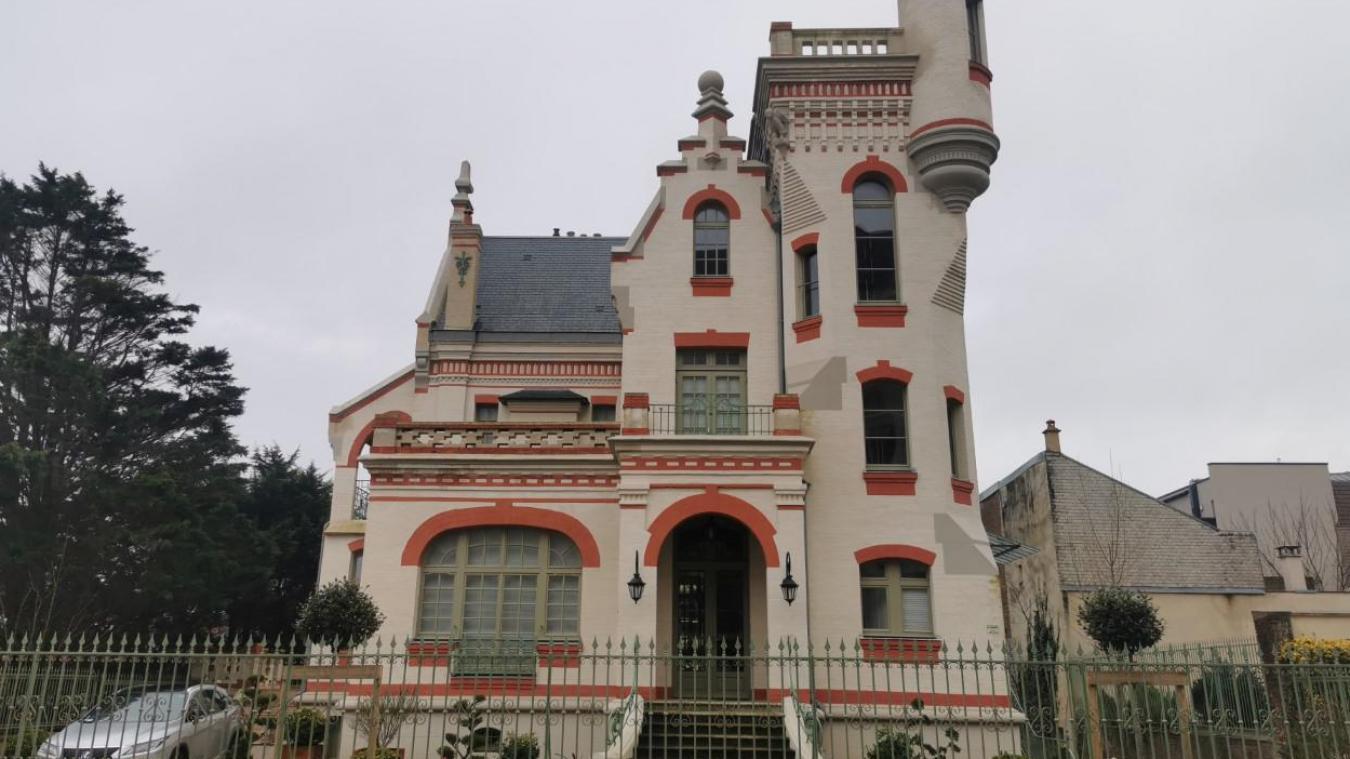 Touquet : le Castel, une néo-médiévale ancrée dans la modernité