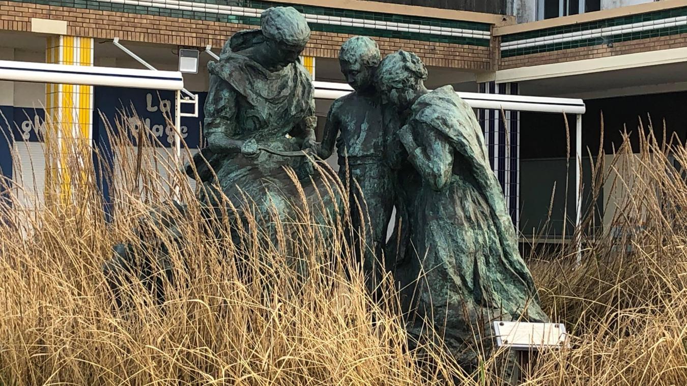 Une statue berckoise rend hommage au corps médical