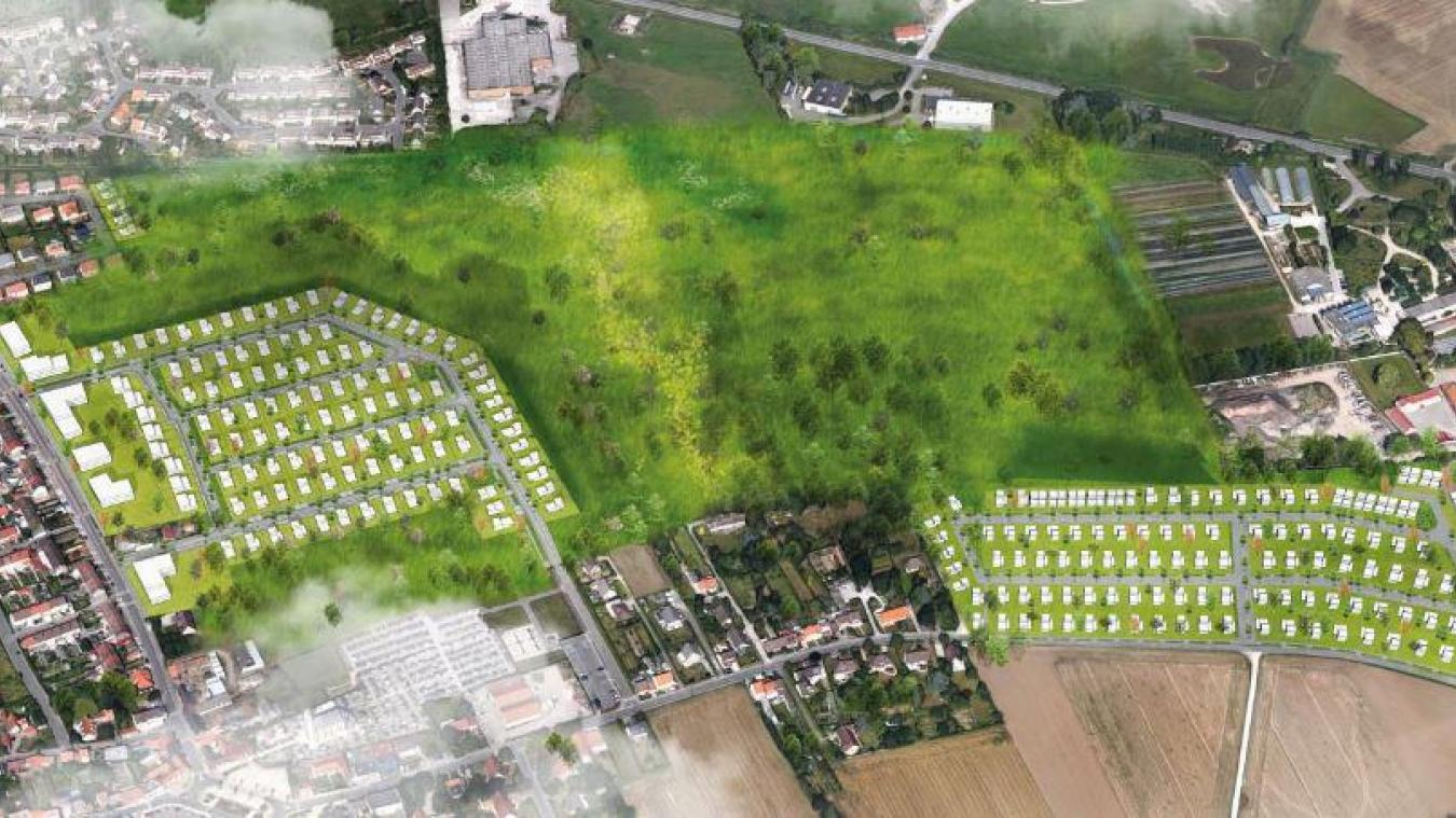 Voici à quoi devrait ressembler l'aménagement de l'écoquartier.