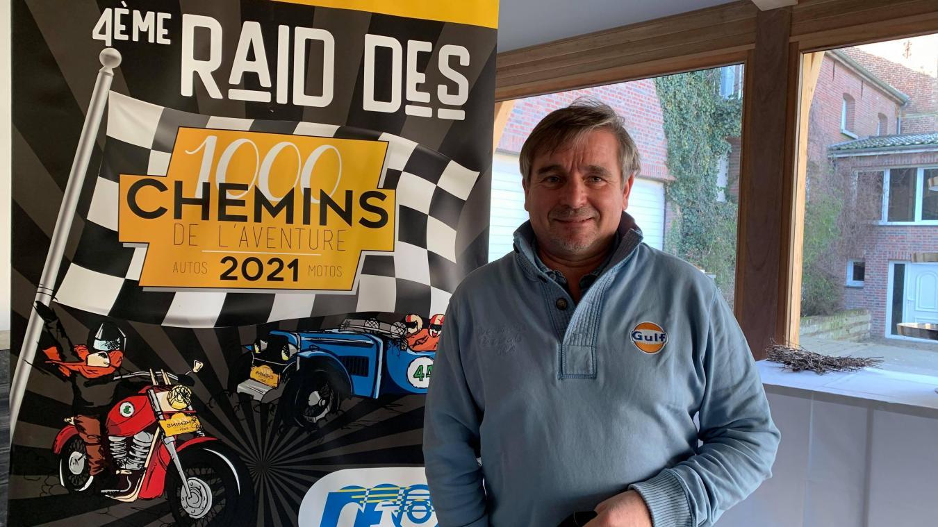 Passionné de rallye, Hervé Diers se lance dans l'organisation du quatrième Rallye des 1 000 chemins, 30 ans après la dernière édition.
